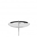 Advent candlestick, made of metal, diameter 100m